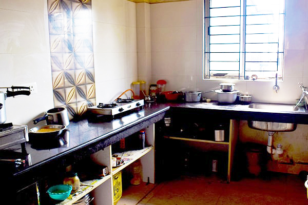 Kitchen Of Pg In Siliguri For Female